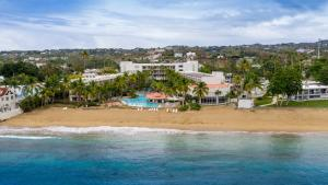 A bird's-eye view of Rincon of the Seas Grand Caribbean Hotel