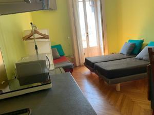 Letto o letti in una camera di Milano Centrale B&B monolocale-studio