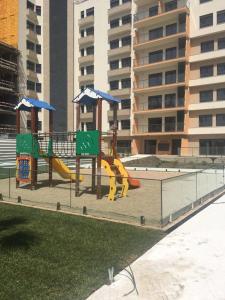 Children's play area at 1 rua Doutor Jorge Nunoz Cardoso