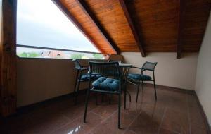 Balkón nebo terasa v ubytování Guest House Korita