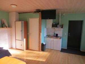 Köök või kööginurk majutusasutuses Lossi tn. külalistuba