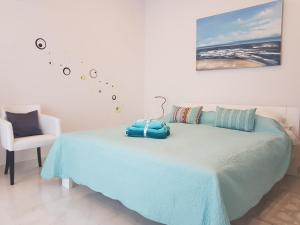 A bed or beds in a room at Apartment Mirella