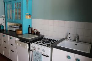 A kitchen or kitchenette at Vintage Inn Tübingen
