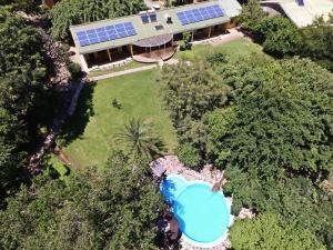 Een luchtfoto van Safari Beach Lodge