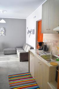 A kitchen or kitchenette at Appartment Anna