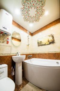 A bathroom at 2-х комнатная квартира на Набережной