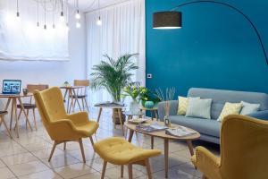 Un restaurante o sitio para comer en Residence Leopoldo