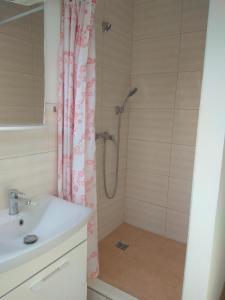 Kúpeľňa v ubytovaní Penzionhanarobo