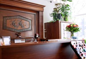 The lobby or reception area at Hotel Allure