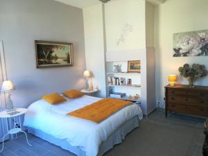 Un ou plusieurs lits dans un hébergement de l'établissement Le Clos Sainte Foy