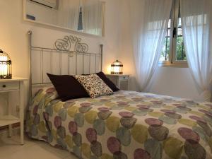 Cama o camas de una habitación en Apartamento Lillo