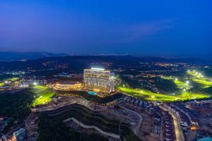 A bird's-eye view of FLC Halong Bay Golf Club & Luxury Resort