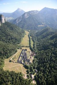 A bird's-eye view of Le Mas de Chartreuse