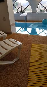 Der Swimmingpool an oder in der Nähe von Landhotel Basler Hof