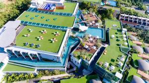 A bird's-eye view of Crest Resort & Pool Villas