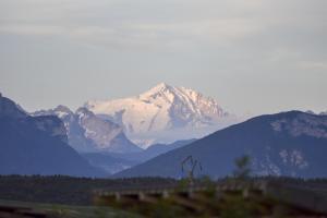 Vue générale sur la montagne ou vue sur la montagne depuis le B&B/chambre d'hôtes