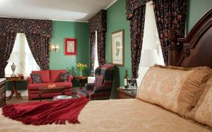 A seating area at Hamanassett Bed & Breakfast