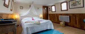 Un ou plusieurs lits dans un hébergement de l'établissement Péniche DJEBELLE