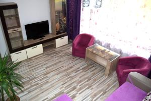 O zonă de relaxare la Black Sea Apartament