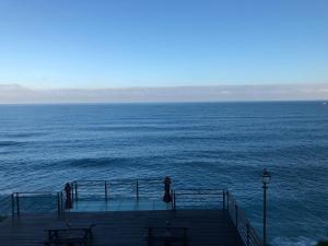 海景或從民宿拍的海景