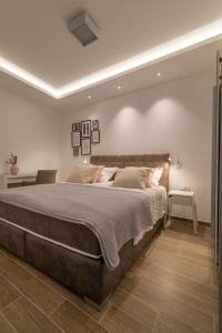Postel nebo postele na pokoji v ubytování Villa Amazing View