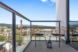 A balcony or terrace at Views On Surflen