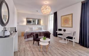 Гостиная зона в Belfry & Spa by Ligne St Barth