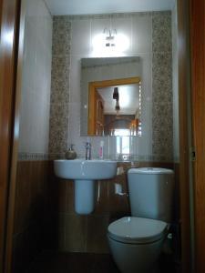 A bathroom at Delight