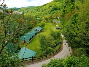 Camping Drina iz ptičje perspektive