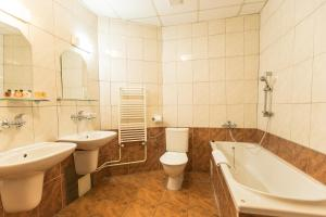 Kúpeľňa v ubytovaní Hotel Kaštieľ Mojmírovce