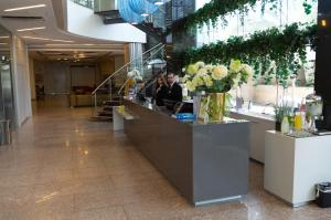 The lobby or reception area at Benjamin Business Hotel