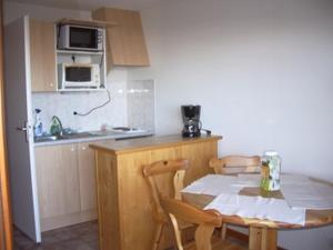 Cuisine ou kitchenette dans l'établissement Studio Yeti Immobilier