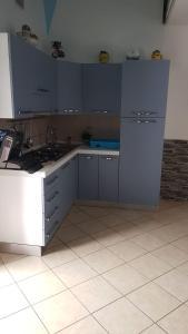 Cucina o angolo cottura di Villa Amalfi