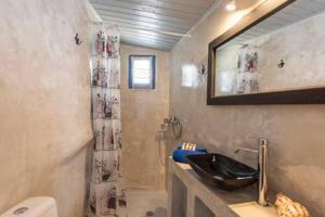A bathroom at Emmantina