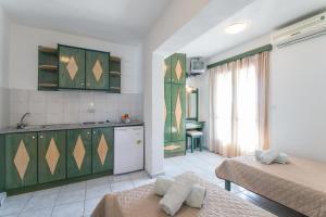 Η κουζίνα ή μικρή κουζίνα στο Stefanis House