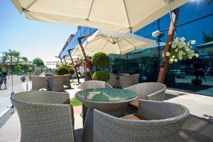 Патио или другая зона на открытом воздухе в Intourist Hotel