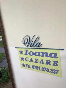Logo-ul sau firma acestui această vilă