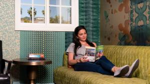 Familia alojada en USA Hostels Hollywood