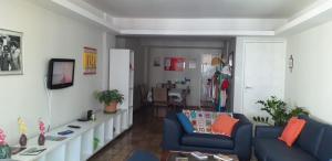 A seating area at APARTAMENTO 4 QUARTOS- PRAIA B.VIAGEM-RECIFE