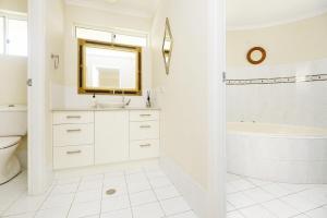 A bathroom at Ballantrae 8 - Sawtell, NSW