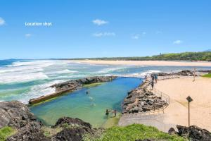 A bird's-eye view of Solitaire 1 - Sawtell, NSW