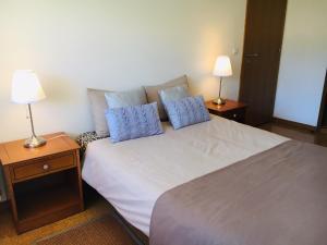 Cama o camas de una habitación en Charming apart (2 rooms) no Parque das nações -100m2