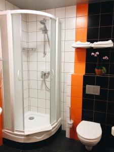 A bathroom at Hotel Elokhovsky City