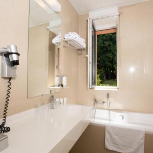 Koupelna v ubytování Resort Svata Katerina