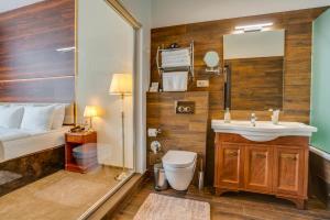 Ванная комната в Viewpoint Hotel