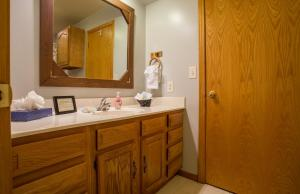 A bathroom at Ozarks Outdoor Legacy Home