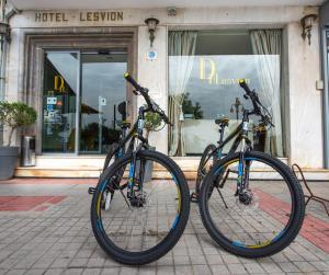 Cycling at or in the surroundings of Lesvion Hotel