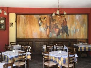 Restaurant ou autre lieu de restauration dans l'établissement Pension Skala