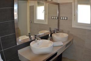 A bathroom at Casas Maria Carmona