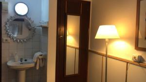 A bathroom at Casa de Huespedes la Peña